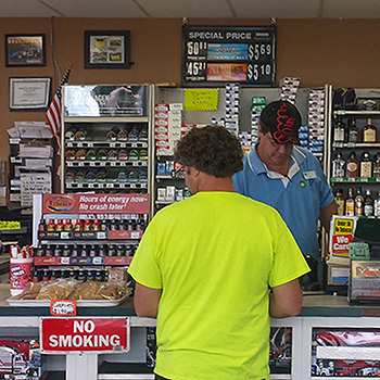 Floyd's Truck Stop convenience store