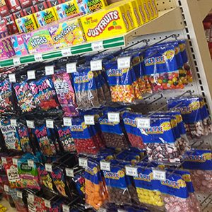 Convenience store snacks